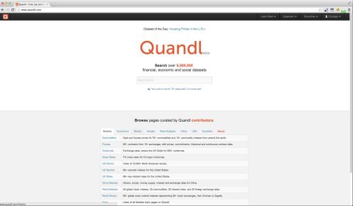Quandl + BigML = Powerful financial, economic, and social predictive