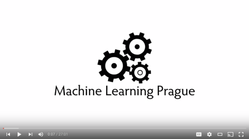 Machine Learning Prague 2016 - Adam Ashenfelter
