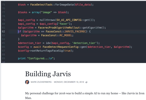 Mark Zuckerberg's Jarvis AI