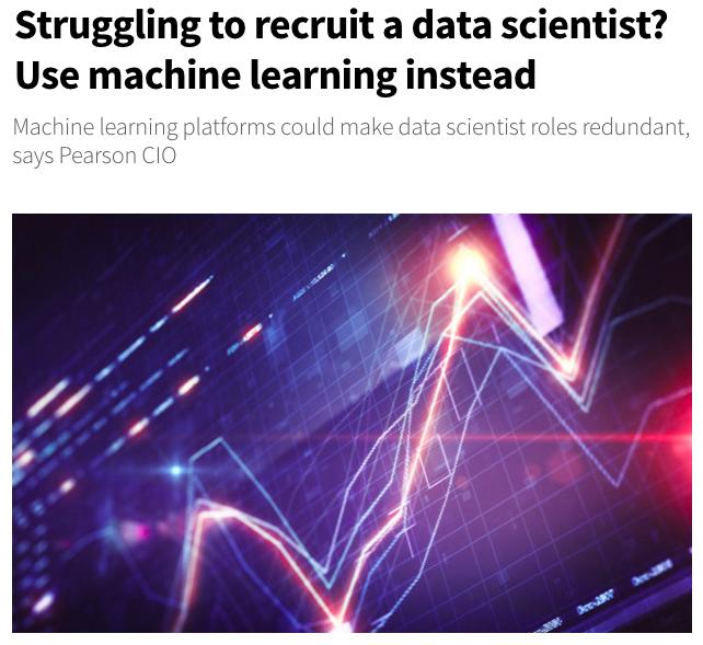 Developer-driven Machine Learning
