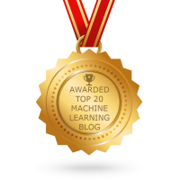 Awarded Top 20 Machine Learning Blog