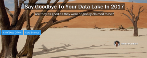 The Death of Data Lakes