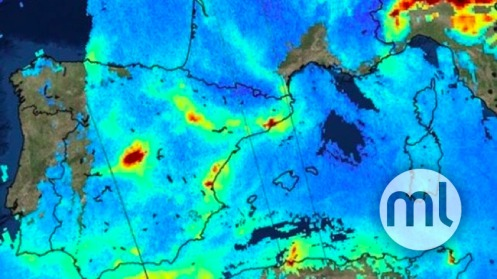 Air Pollution Map Spain