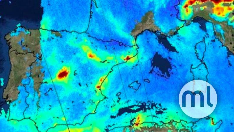 Air Pollution Map Spain