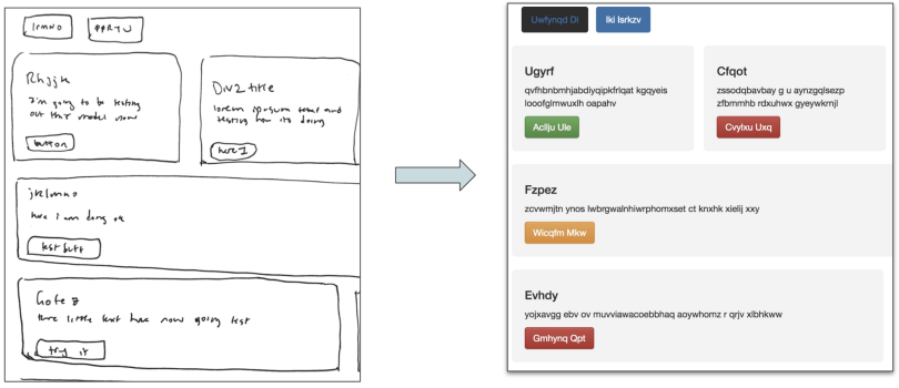 HTML Deep Learning