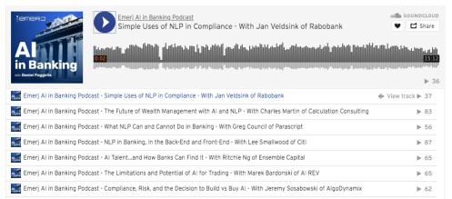 Emerj Rabobank Podcast